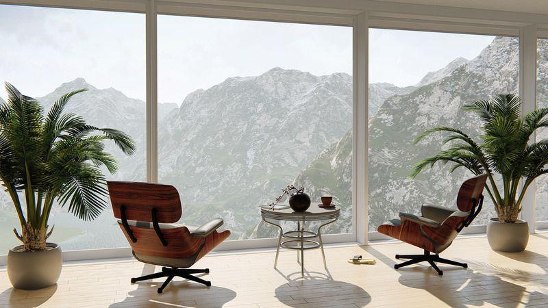 Canva interior design of a room