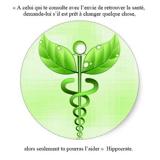 Symbole medecine douce